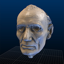 Leonard Volk's Life Mask of Abraham Lincoln