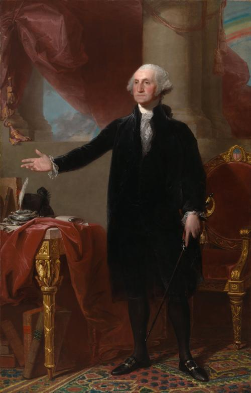 Lansdowne Portrait of Geroge Washington