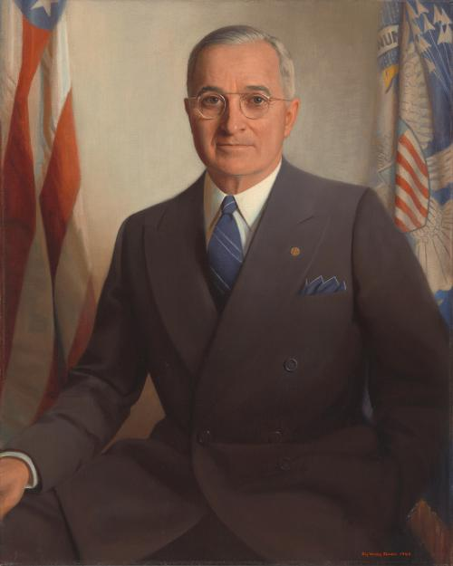 Portrait of Harry Truman